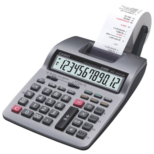 casio desktop printing calculator hr 100tm printing calculators