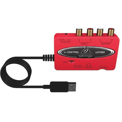 Behringer U-Control USB Audio Interface with Digital Output (UCA222)