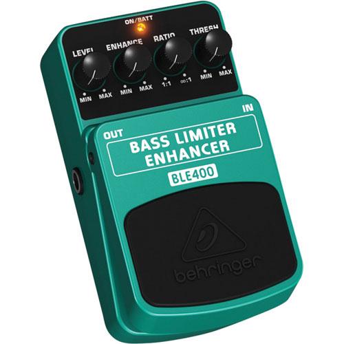 Behringer Bass Limiter Enhancer Pedal (BLE400)
