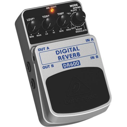 Pédale de réverbération numérique pour guitare de Behringer (DR600)