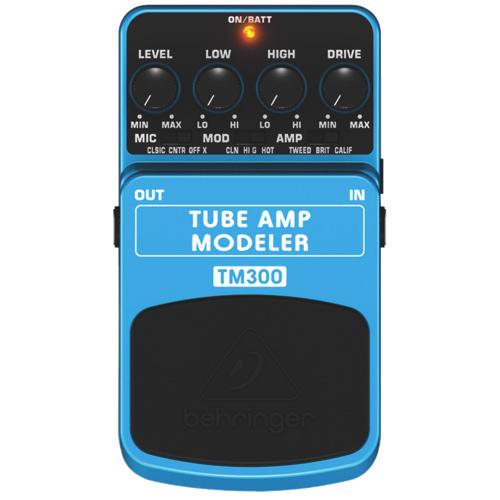 Pédale d'effets Tube Amp Modeler Ultimate de Behringer (TM300)