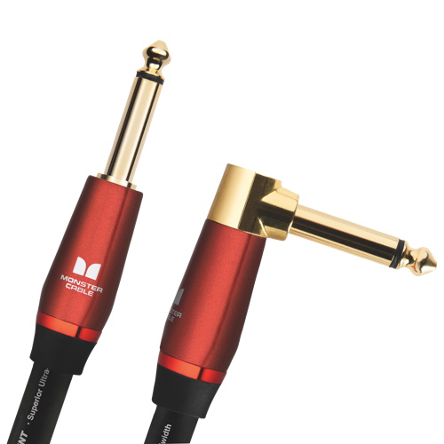 Monster 6.4m (21 ft.) Right Angle to Straight Acoustic Guitar Cable (M ACST2-21A WW)