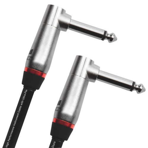 "Monster 0.2m (8"") 1/4"" Angled Mono Male Instrument Cable (P600-I-0.75DA WW)"