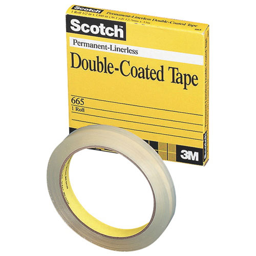 Scotch Double-Coated Transparency Tape (MMM6656M33)