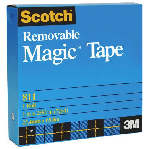 Scotch Removable Magic Tape (MMM811S18M33)