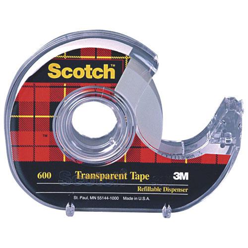 Ruban transparent en cellulose de Scotch (MMM600P18M33)