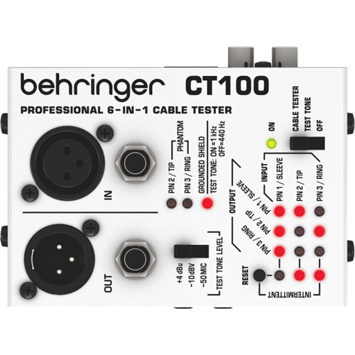 Behringer Cable Tester (CT100)