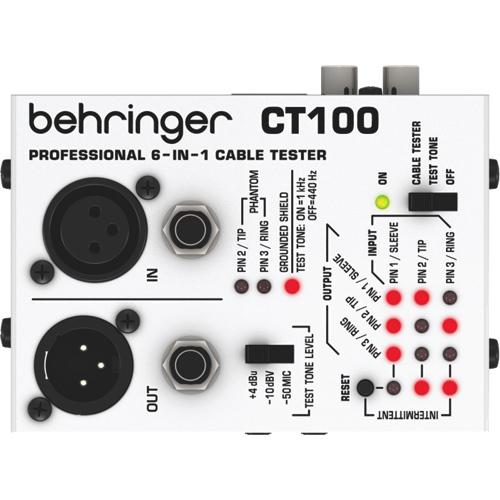 Testeur de câble de Behringer (CT100)