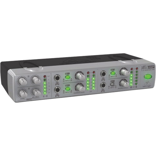 Behringer Miniamp Ultra-Compact 4-Channel Headphone Amplifier (AMP800)