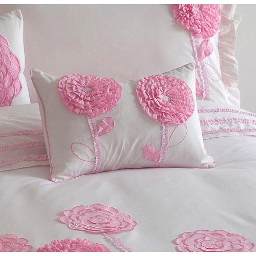 Coussin décoratif Floret Pink KIDS de Maholi - Rose