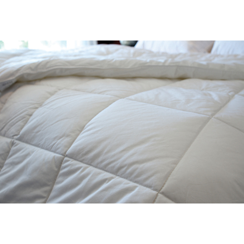 Maholi Royal Elite Collection 260 Thread Count Duck Down 4 Seasons Duvet - Queen - White