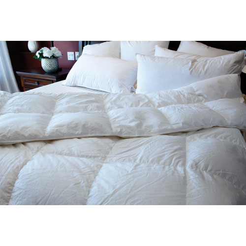 Maholi Royal Elite Collection 260 Thread Count Goose Down Winter Duvet - King - White