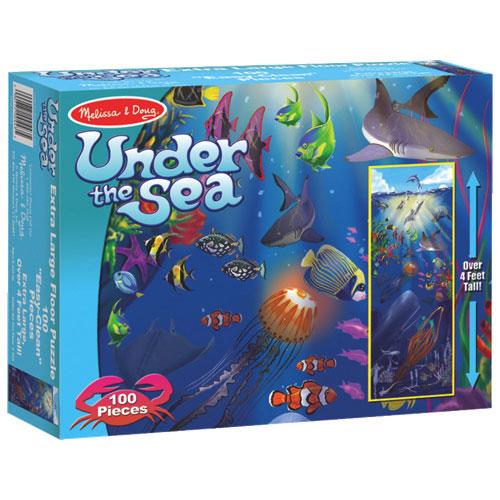 Melissa U0026 Doug 100 Piece Under The Sea Floor Puzzle