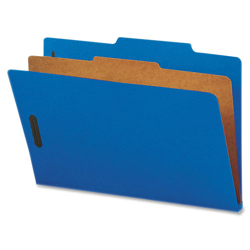 Nature Saver Top Tab Classification Folder (SP17221) - Legal - 10 Pack - Dark Blue
