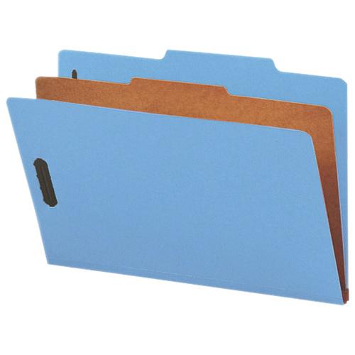 Chemise de classement à onglet supérieur de Nature Saver (SP17219) - Ministre - Paquet de 10 - Bleu