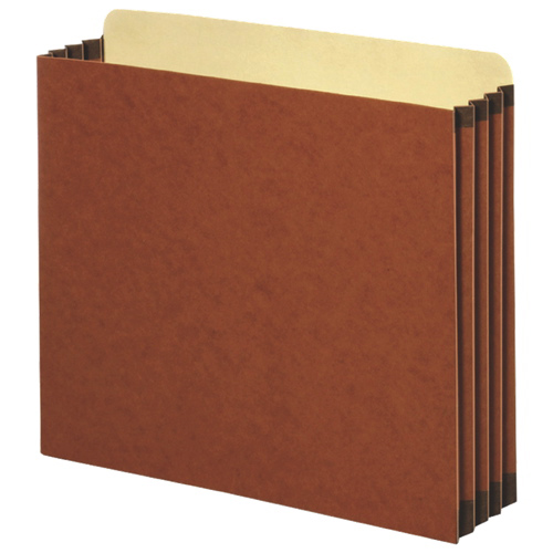 Globe-Weis Expanding File (FC1534G) - Letter - 10 Pack - Brown