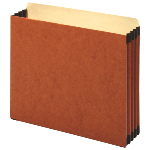 Globe-Weis Expanding File (FC1524E) - Letter - 10 Pack - Brown