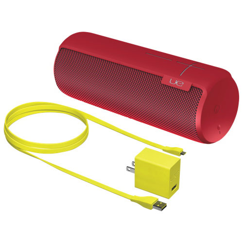 Ultimate Ears MEGABOOM Waterproof Wireless Bluetooth Speaker - Red