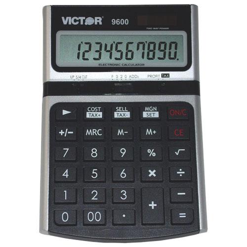 Victor 10-Digit Desktop Business Calculator (VCT9600)