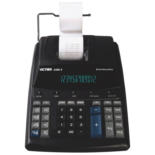 Victor 12-Digit Extra Heavy-Duty Printing Calculator (VCT14604)