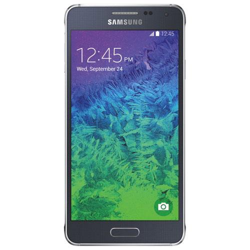 Bell Samsung Galaxy Alpha 32GB - Black - 2 Year Agreement
