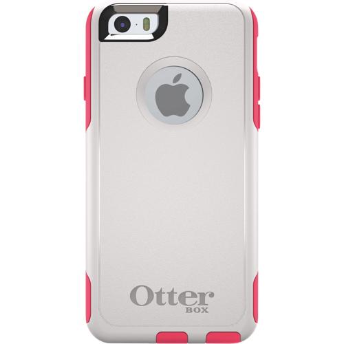 Étui rigide ajusté Commuter d'OtterBox pour iPhone 6/6s - Blanc - Rose
