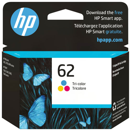 HP 62 Tri-Colour Ink (C2P06AN#140)