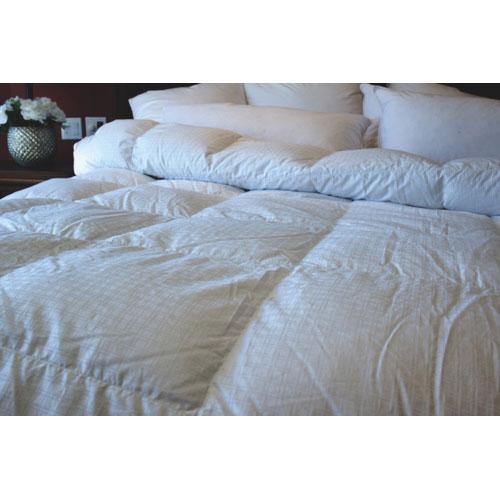 Douillette d'hiver en duvet de canard contexture de 400 Royal Elite de Maholi - Très grand lit-Blanc