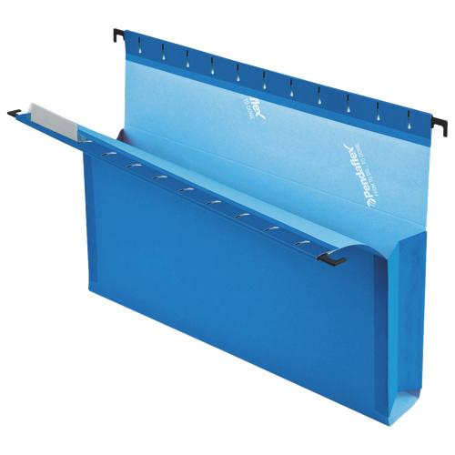 Esselte Hanging File Folder - Letter - 25 Pack - Blue