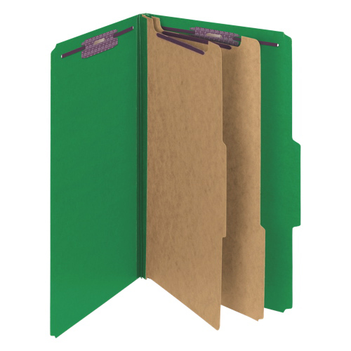 Smead SafeSHIELD Classification Folder (SMD19033C) - Legal - 10 Pack - Green