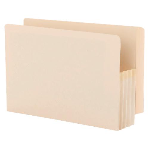 Smead TUFF Pocket End Tab Expanding File Pocket - Legal - 25 Pack - Manila