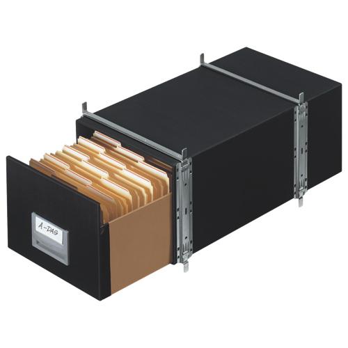 Tiroir de rangement format lettre de Bankers Box (FEL00511C) - Gris
