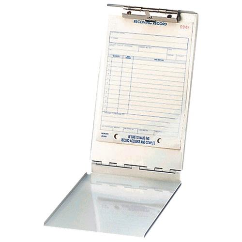 Planchette à pince avec rangement en aluminium de Saunders (SAU10007) - Argenté