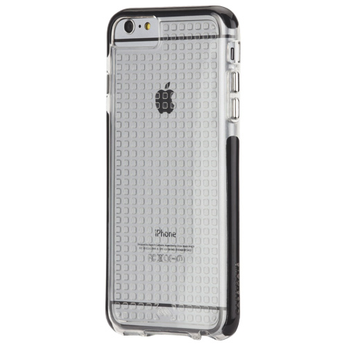 Case-Mate Tough Air iPhone 6/6s Plus Fitted Soft Shell Case - Clear/Black