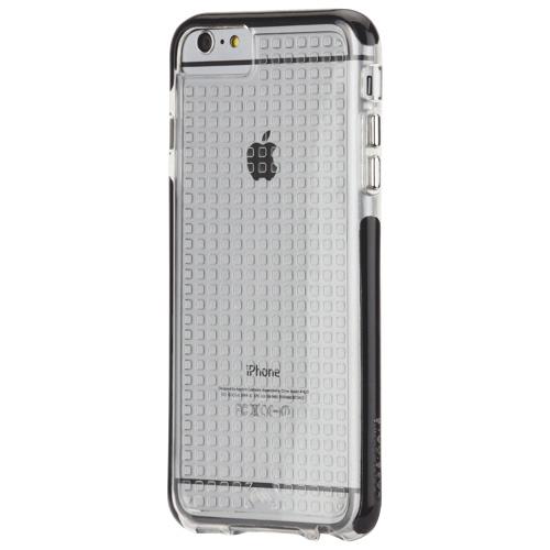 Étui souple Tough Air de Case-Mate pour iPhone 6/6s Plus - Transparent - Noir