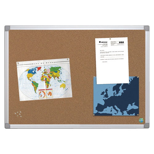 "MasterVision Earth 72"" x 48"" Cork Bulletin Board (BVCCA271790)"