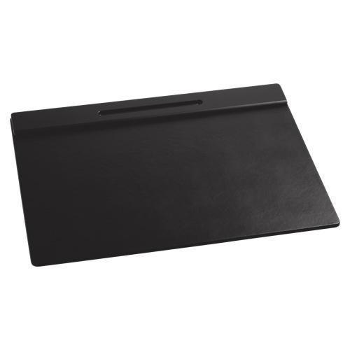 Sous-main tons de bois 24 x 19 po de Rolodex (ROL62540) - Noir