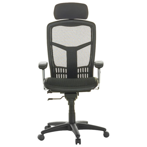 Lorell Ergonomic High Back Task Chair   Black