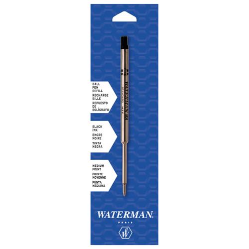 Recharge pour stylo à bille de Waterman (WAT834254) - Noir