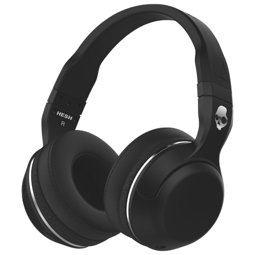 skullcandy hesh 2 unleashed over ear sound isolating bluetooth headphones black over ear. Black Bedroom Furniture Sets. Home Design Ideas