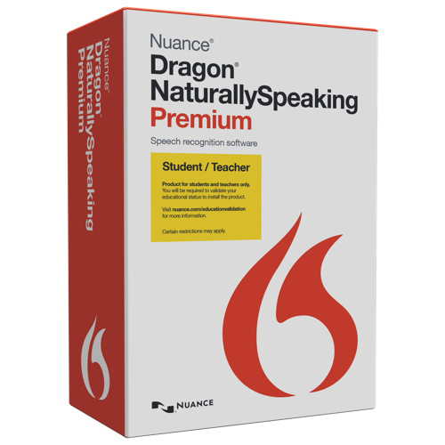 Dragon NaturallySpeaking 13 Premium Student/Teacher - English