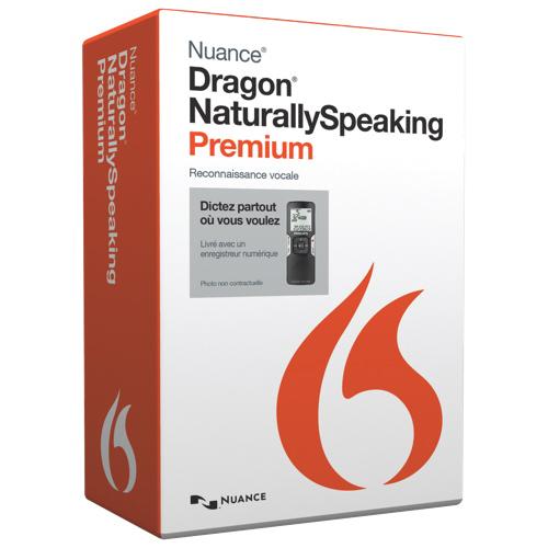 Dragon NaturallySpeaking 13 Premium Mobile - French