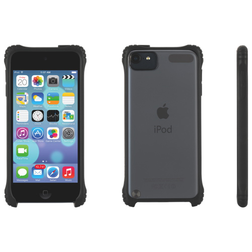 Griffin Survivor Clear iPod Touch 5 Fitted Hard Shell Case - Black