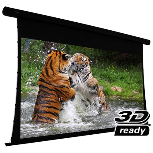 "EluneVision Reference Studio AudioWeave 4K 106"" Motorized Projector Screen - Black"