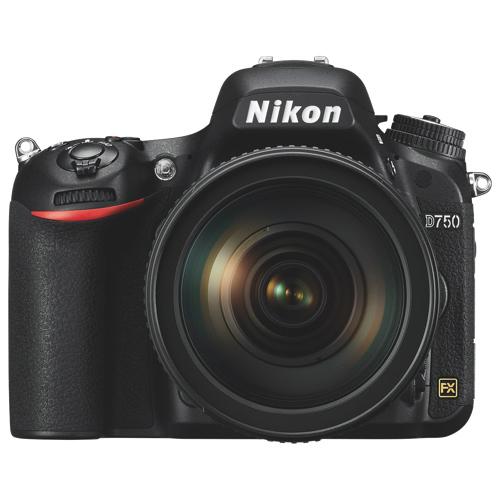 Nikon D750 Full Frame Dslr Camera With Afs 24 120mm Vr