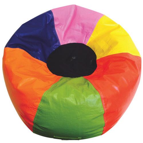 Fauteuil poire en vinyle Boscoman - Multicolore