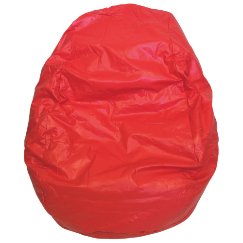 Modern Vinyl Bean Bag Chair - Red (96060-073) - Modern Vinyl Bean Bag Chair - Red (96060-073) : Kids & Teens