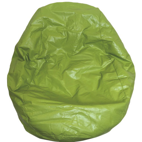 Modern Vinyl Bean Bag Chair - Green