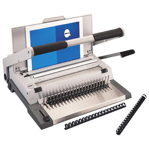 GBC CombBind All-In-One Manual Binding Machine (GBC27134) - Grey
