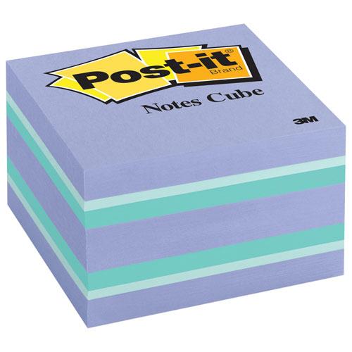 Cube de feuillets Post-it - Passion pourpre